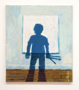 Todd Bienvenu My Shadow, 2016 Oil on canvas 40 by 35 inches (1.01 by 0.89 meters) $5,000