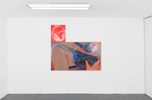 Touching in the Dark, Sarah Faux & Mandy Lyn Ford (Installation view)