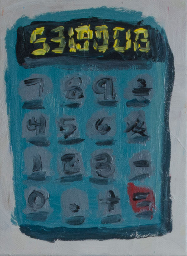 TB_calculator_2016_acrylic-on-canvas_13by9.5